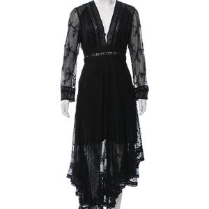 Zimmerman XS-S embroidered lace dress